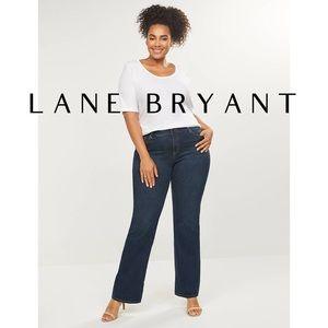 Lane Bryant | Dark Wash Genius Fit Bootcut Jeans